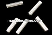 Tub decorativ, argint 925, 5x1.9mm - x10