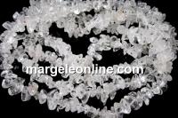 Natural white quartz - chips - cuart alb, 87cm