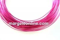 Sarma din cupru, roz intens, 0.50mm - 15m