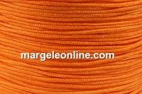 Snur matase pentru bratari, portocaliu, 0.8mm - x5m