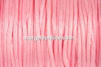 Snur satin, roz, 1.5mm - 5m