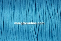 Snur satin, turcoaz, 2mm - 5m