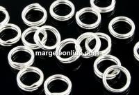 Zale duble argint 925, 5mm - x10
