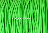Snur elastic circular, verde neon, 1.4mm - x 13m
