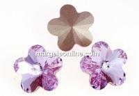 Swarovski, fancy floare, violet, 6mm - x2