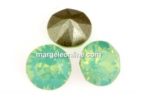 Swarovski, chaton SS, chrysolite opal, 8mm - x2
