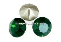 Swarovski, chaton SS, palace green opal, 8mm - x2