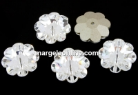 Swarovski, marguerite flower, crystal F, 10mm - x4