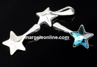 Baza pandantiv argint 925 pentru stea Swarovski 10mm - x1