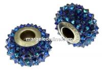 Swarovski, becharmed pave, bermuda blue - x1