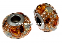 Swarovski, becharmed pave, orange - x1