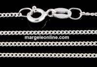 Lant, argint 925, 1.4mm, 42cm - x1