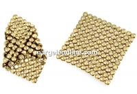 Swarovski Crystal mesh, golden shadow, 3.2x3.2cm - x1