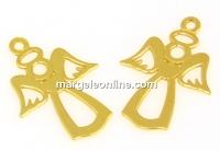 Pandantiv ingeras, argint 925 placat cu aur, 19mm - x1