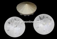 Swarovski, fancy rivoli Sea urchin, crystal, 10mm - x1