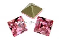 Swarovski, fancy chaton Square, rose, 2mm - x20