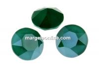 Swarovski, chaton SS39, royal green, 8mm - x2
