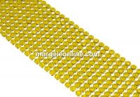 Swarovski Crystal mesh, yellow opal, 20x3.2cm - x1