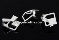 Sistem prindere pandantiv, argint 925, 14mm - x1