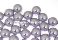 Perle Swarovski cu un orificiu, lavender, 12mm - x2