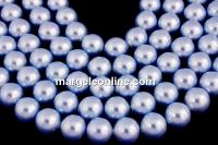Perle Swarovski, light blue, 9mm - x50