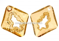 Swarovski, growing pendant, golden shadow, 36mm - x1