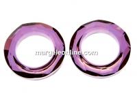 Swarovski, pandantiv cosmic ring, lilac shadow, 20mm - x1