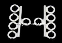 Terminatie multisirag 4, argint 925, 9.5x16mm - x2