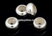 Distantier, stopper, argint 925, 6.6mm - x1