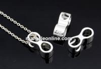 Pandantiv infinit, argint 925, 11.5mm - x1