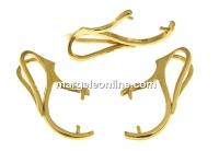 Sistem pand., ag925 pl. cu aur, pt perle si margele de 8-10-12mm - x1