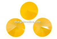 Swarovski, rivoli, buttercup, 12mm - x2