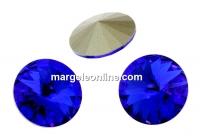 Swarovski, rivoli, majestic blue, 12mm - x2
