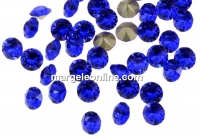 Swarovski, chaton PP18, majestic blue, 2.5mm - x20
