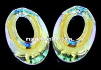 Swarovski, pandantiv helios, aurore boreale, 30mm - x1