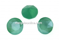 Swarovski, chaton ss39, mint green, 8mm - x2
