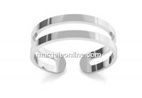Baza inel, argint 925, reglabil   - x1