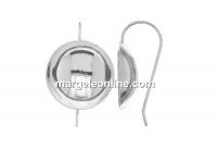 Baza cercei argint 925, cupa 18mm - x1per
