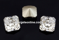 Swarovski, fancy Kaleidoscope, crystal, 6mm - x2