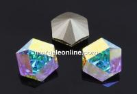 Swarovski, fancy Kaleidoscope hexagon, aurore boreale, 14mm - x1