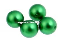 Perle Swarovski cu un orificiu, eden green, 10mm - x2