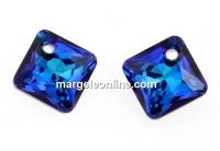 Swarovski, Princess cut pendant, bermuda blue, 11.5mm - x1