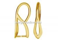 Sistem prindere pandantiv, argint 925 placat cu aur, 21mm - x1