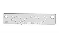Link constelatie zodia Scorpion, argint 925, 20mm - x1