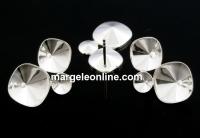 Tortite cercei Trio elegance, argint 925 - x 1 per