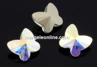 Swarovski, fancy fluture, aurore boreale, 10mm - x1