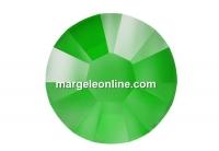 Swarovski, hotfix, ss10, electric green, 2.7mm - x20