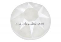 Swarovski, rhinestone ss12, electric white, 3mm - x20