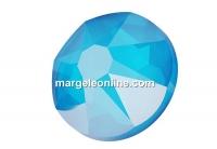 Swarovski, cabochon SS30, electric blue, 6mm - x4