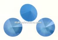 Swarovski, rivoli, summer blue, 12mm - x2